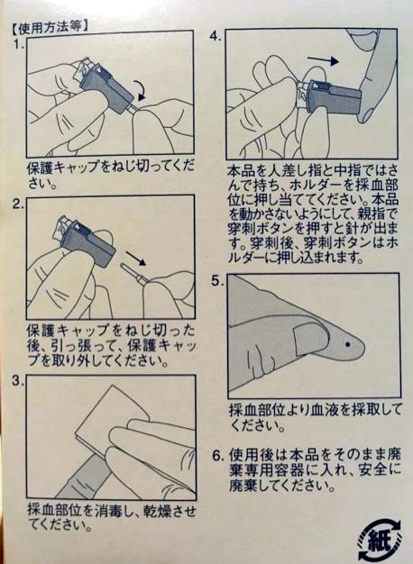 針の使い方